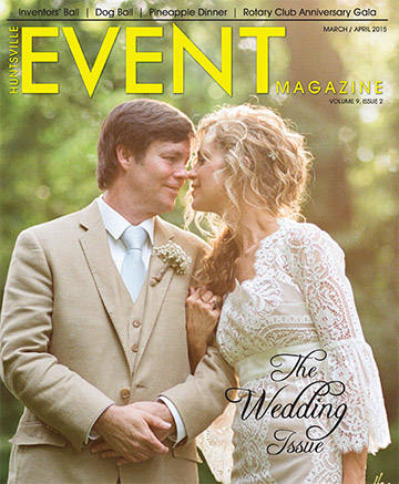 Scott Seeley and Christina Seeley on EVENT Magazine March April 2015 Cover